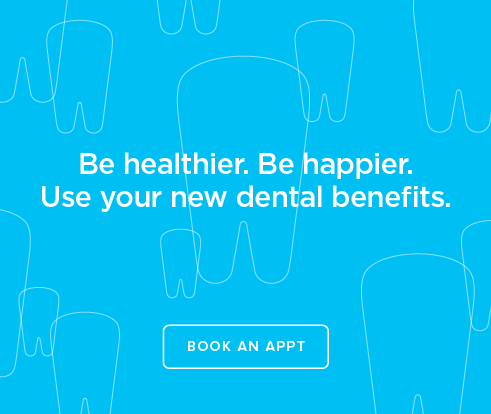Be Heathier, Be Happier. Use your new dental benefits. - Lafayette Modern Smiles Dentistry
