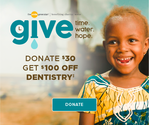 Donate $30, Get $100 Off Dentistry - Lafayette Modern Smiles Dentistry